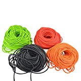 AMEYXGS Compound Bow Peep Sight Pull Line Peep Sight Rubber Tubing Peep Sight Peep Sight Replacement Tubing 3 Meter for Compound Bow Accessories (Peep Sight Replacement tubing(Orange))