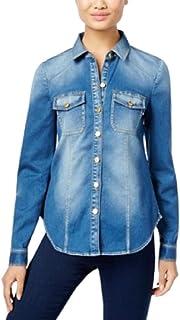 INC International Concepts Petite Denim Shirt