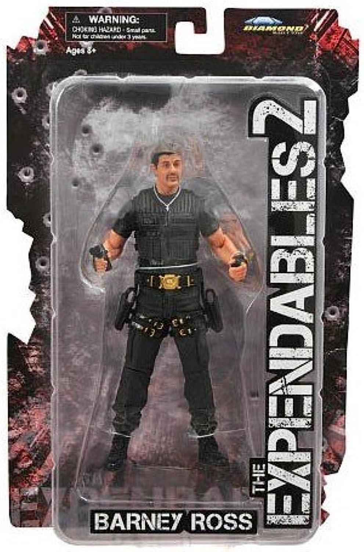 punto de venta barato Expendables 2 Series 1 Barney Ross Ross Ross (Sylvester Stallone) Acción Figura  tienda de ventas outlet