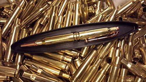 308 bullet twist pen in brass