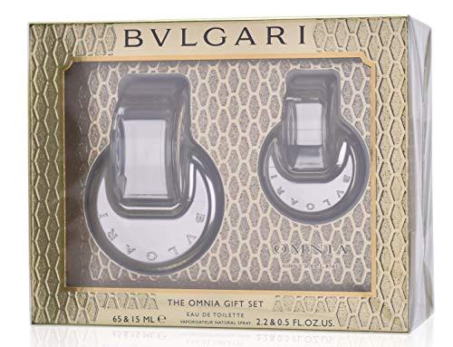 Bulgari Omnia Crystalline Geschenkset (Eau de Toilette,65ml+15ml)