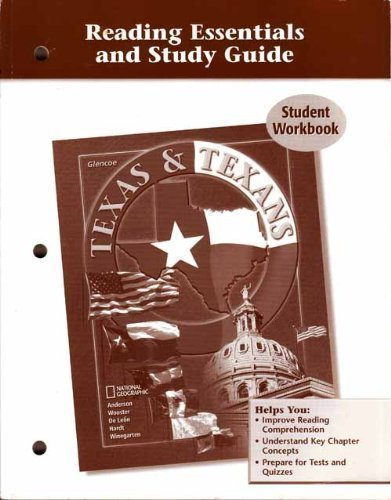 Texas & Texans (Reading Essentials and Study Guide Student Workbook)