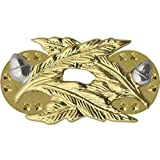 Genuine U.S. Navy (USN) Collar Device: Civil Engineer (CE) - Gold