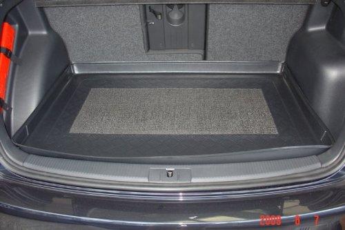 Kofferraumwanne mit Anti-Rutsch passend für VW Golf 5 Plus 2005-2009 (Rückbank nach hinten) Nur für Modelle mit variablem Ladeboden!