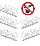 cozzolinobrico dissuasori anti piccioni colombi aghi spilli inox 1 mt kit 5 bacchette totale 5mt