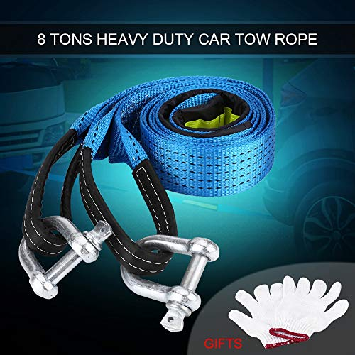 Tira reflectante fluorescente Ganchos de acero al carbono Gran tenacidad Cable de...