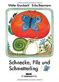 Schnecke, Pilz und Schmetterling