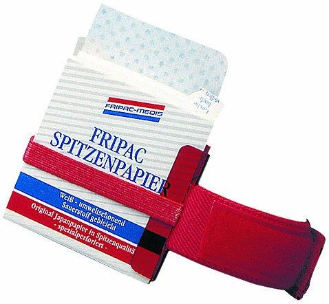 Fripac-Medis Handgelenkspender für Spitzenpapier, 1 Stück, rot