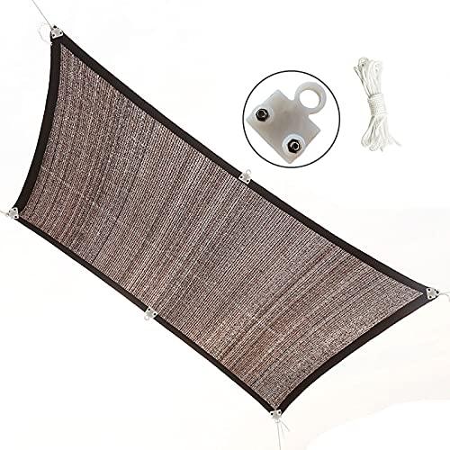 RXBFD Malla de sombreo con Ojetes Metálicos,Transpirable Tasa de sombreado 90% toldo Vela cifrado Grueso,para Exterior, Patio Trasero, jardín, Invernadero, Planta(Personalizable)