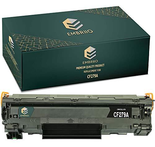 EMBRIIO CF279A 79A Cartucho Tóner Reemplazo para HP Laserjet Pro MFP M26nw M26a M12 M12a M12w