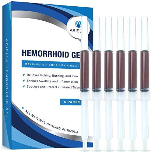 Ariella Hemorrhoid Treatment Gel - Cleaner and Easier Application Than...