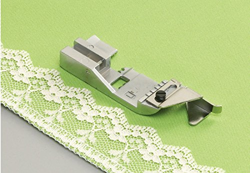 """Babylock """"Lace Applicator Foot"""" BLE8-LF for Evolution (BLE8W-2), Ovation (BLES8) Serger"""