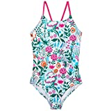 Joules One Piece Swimsuit - Pale Green Secret <span class='highlight'>Garden</span> - 5 Years / 110 cms