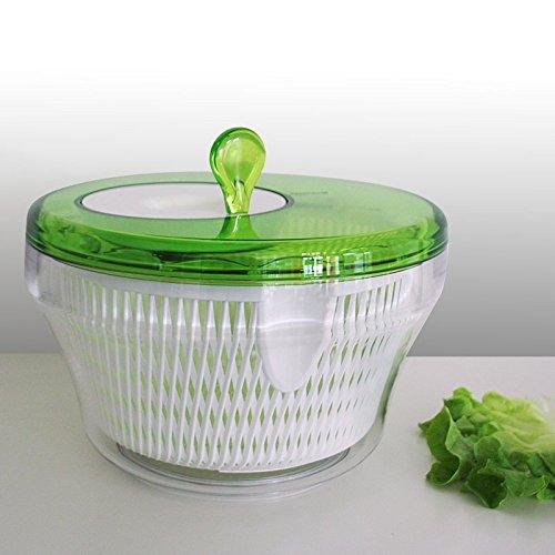 guzzini MY-KITCHEN Salatschleuder grün-weiss, D ca. 27,5 cm