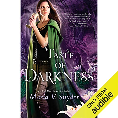 Taste of Darkness audiobook cover art