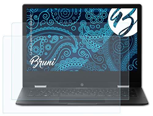 Bruni Schutzfolie kompatibel mit Medion AKOYA E3222 MD62540 Folie, glasklare Bildschirmschutzfolie (2X)