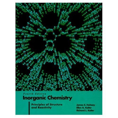 Inorganic Chemistry: Principles of Structure and Reactivity