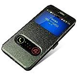 Xingyue Aile Covers et Étuis Pour Samsung Galaxy Note 9 8 3 4 5, Filp de Windows en cuir PU...