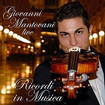 Ricordi in musica (Live, Arr. for Piano and Violin)