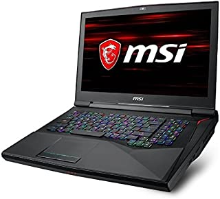 MSI 17.3型ゲーミングノートPC GT75 TITAN 8RG-008JP GT758RG008JP [Win10 Home・Core i7・GTX 1080]