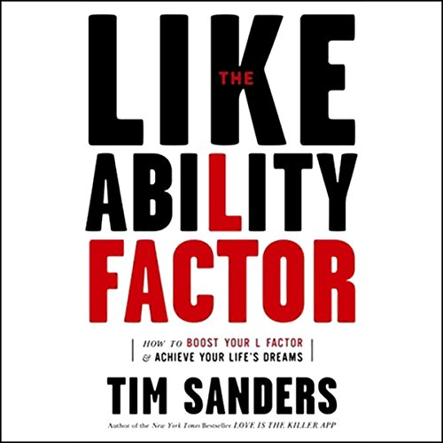 The Likeability Factor audiobook cover art