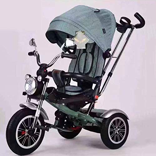 Great Features Of Nationwel Multi-FunctionBaby carriager - Three-Wheeled Children's Bicycle 1-6 Year...