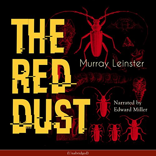 The Red Dust audiobook cover art
