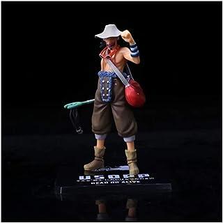 BJLWTQ One Piece Model Puppet Persona Che Indossa Un Cappello Di Paglia Anime Fatti A Mano