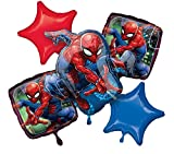 Amscan 3466701 Bouquet Spider Man Folienballon  Fo