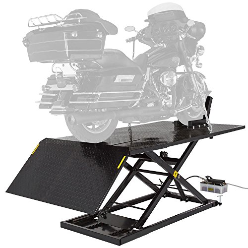 Black Widow BW-1500AO-V2-MC Hydraulic Motorcycle Lift Table