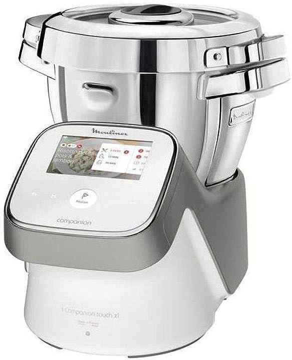 Robot da cucina i companion xl touch per tagliare legumes moulinex – hf936e00