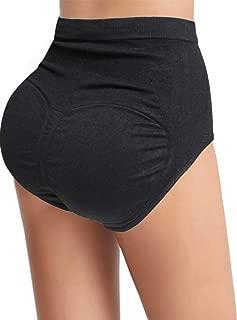 Sliot Women Pads Underwear Butt Lifter Padded Panties High Waist Hip Enhancer Shapewear Tummy Control Briefs Seamless