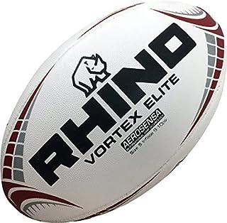 6dc40cad6ba01 Only Sports rouage Rhino Vortex Elite Réplique Ballon de Rugby Blanc
