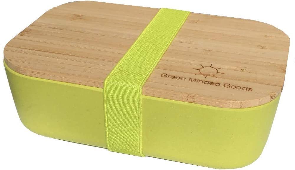 Green Minded Goods Bamboo Lid Colorful Bento Max 75% OFF Free shipping anywhere in the nation Eco-F Reusable Box