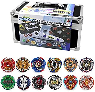 3T6B Bey Battling Top Set, Blade Battling Gyro Set with Aluminum Alloy Case Battling Tops & Launchers Kids Toys Children Teens Birthday Gifts (8881)