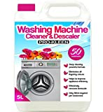 Pro-Kleen Washing Machine Cleaner and Descaler - 50 Treatments - Removes Smells Caused by Mould, Mildew & Damp...