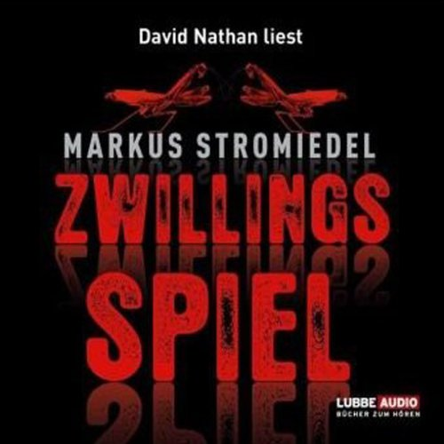 Zwillingsspiel audiobook cover art