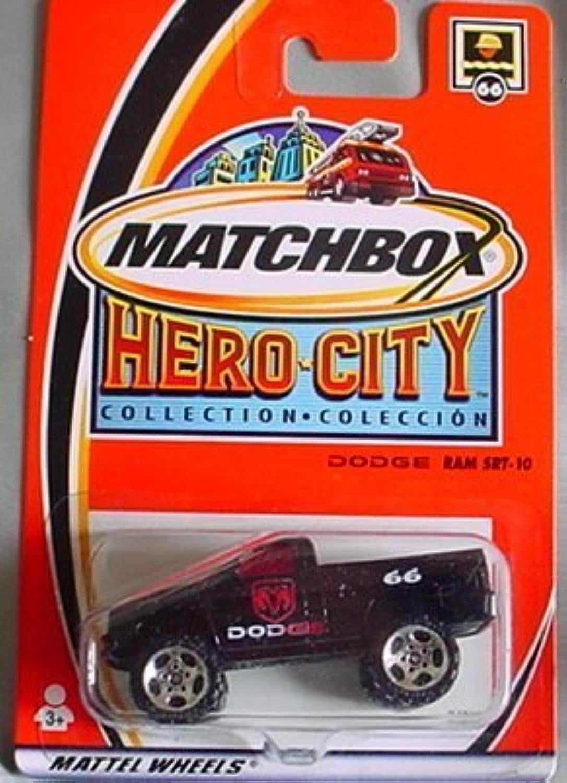 Matchbox Hero City Dodge Ram SRT10  66 BLACK by Matchbox