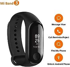 Xiaomi Mi Band 3 Smart Bracelet Fitness Tracker Pedometer Heart Rate Monitor Waterproof International Version