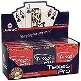 JUEGO Texas Pro I Carte Gioco Da Tavolo I Originali Poker & Texas Hold'em I 100% Plastica ...