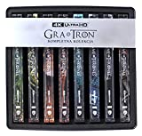 Juego de tronos Season 1-8 Steelbook 4K (BOX) [Region Free] (Audio español. SubtĂtulos en español)
