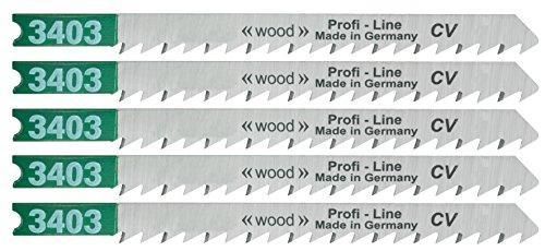 Connex decoupeerzaagblad B&D hout grof 100 mm, 5 stuks, COM310106