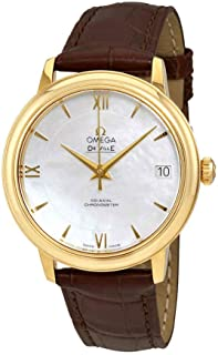 Omega De Ville Trésor Omega Master Co-Axial 40 mm Yellow Gold - 432.53.40.21.02.001