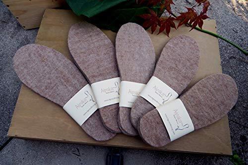 Alpaka-Schuheinlage Größe 42/43