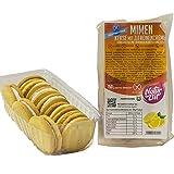MIMEN glutenfreie Vanille Kekse mit Zitronen Creme Füllung 15% | Cookies vegan - laktosefrei - glutenfrei - handgemacht | Süßigkeit für nahrhaft abwechslungsreiche Lunchbox