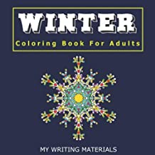 WINTER - Coloring Book For Adults