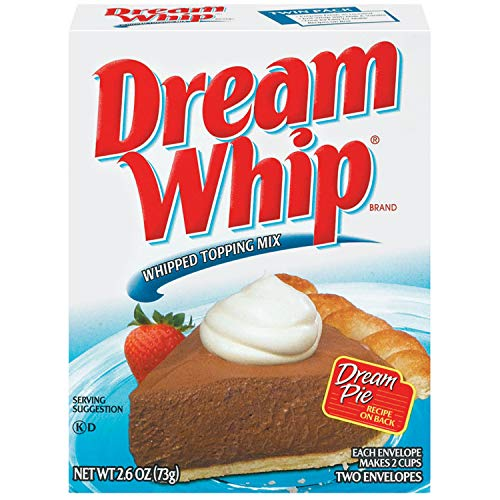 Dream Whip Whipped Topping Mix (2.6 oz Boxes, Pack of 12)