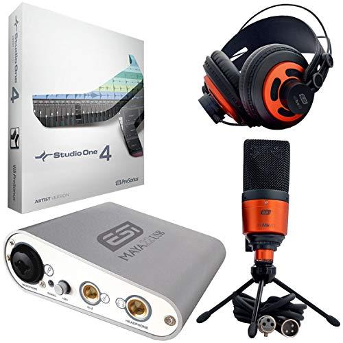 ESI Studio Recording-Set + Presonus Studio One 4 Artist DAW Software