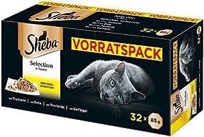 Sheba Våtfoder för Katter- 32 x 85 g