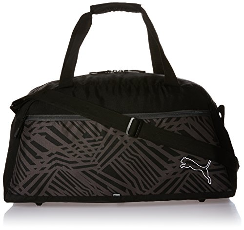 PUMA borsa sportiva Echo Sports Bag, Black, 54 x 23 x 27 cm, 35 litri, 073792 01
